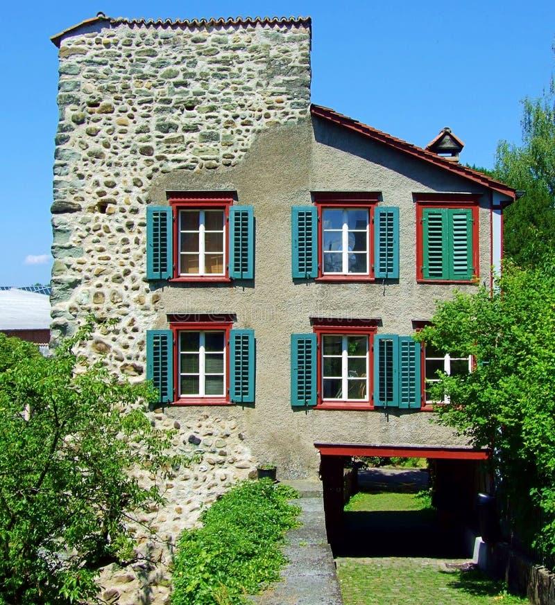 dom, architektura, budynek, dom ceglany, stary, nadokienny, miasto fasadowy, tradycyjny, dachowy, okno grodzcy, miastowy, Europe, fotografia royalty free