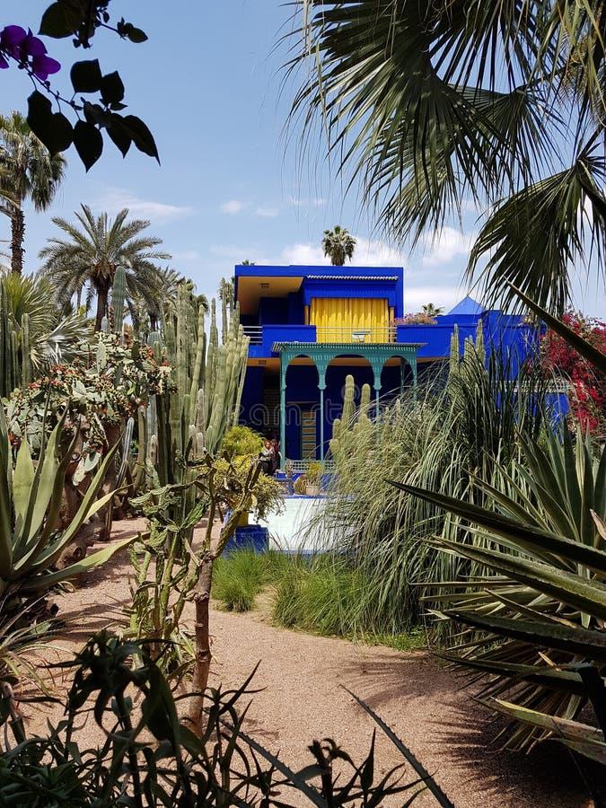 Dom Berber muzeum w Majorelle ogródzie, Marrakesh obrazy royalty free