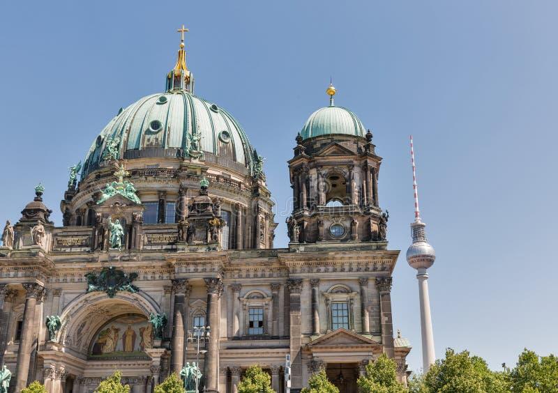 Dom berlineses de la catedral en la isla de museo en Berlín, Alemania foto de archivo libre de regalías