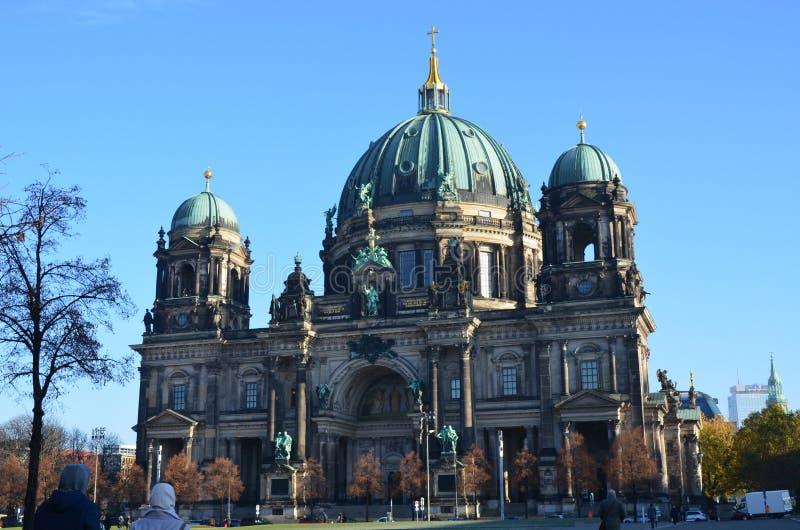 DOM berlinesi della chiesa di Berlin Cathedral, Berlino, Germania fotografia stock