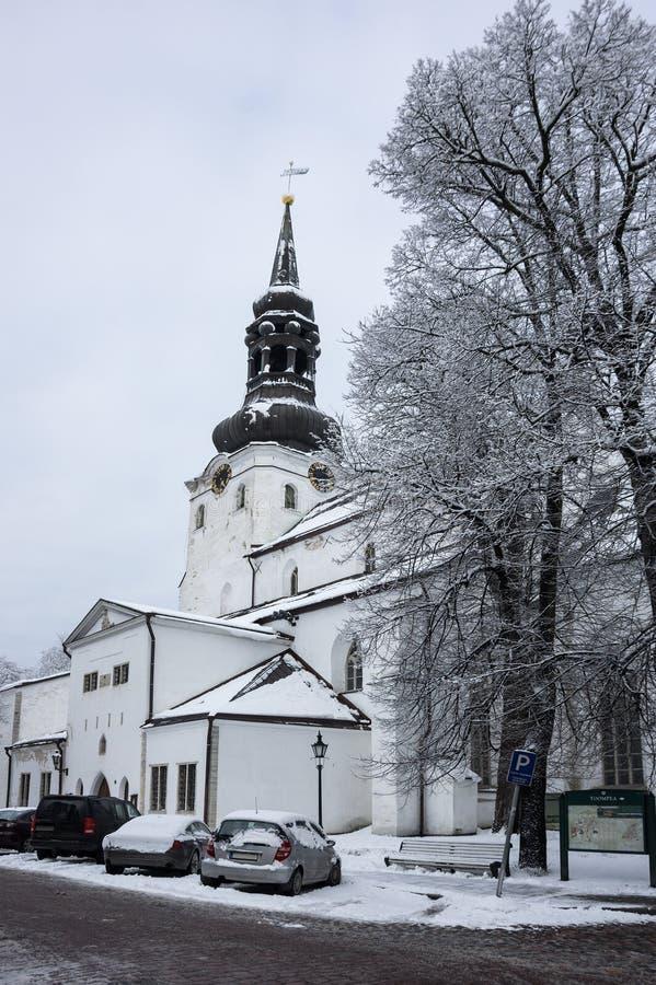 Dom Cathedral de Tallinn foto de archivo libre de regalías
