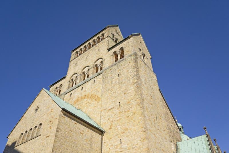 Dom Cathedral en Hildesheim imagenes de archivo