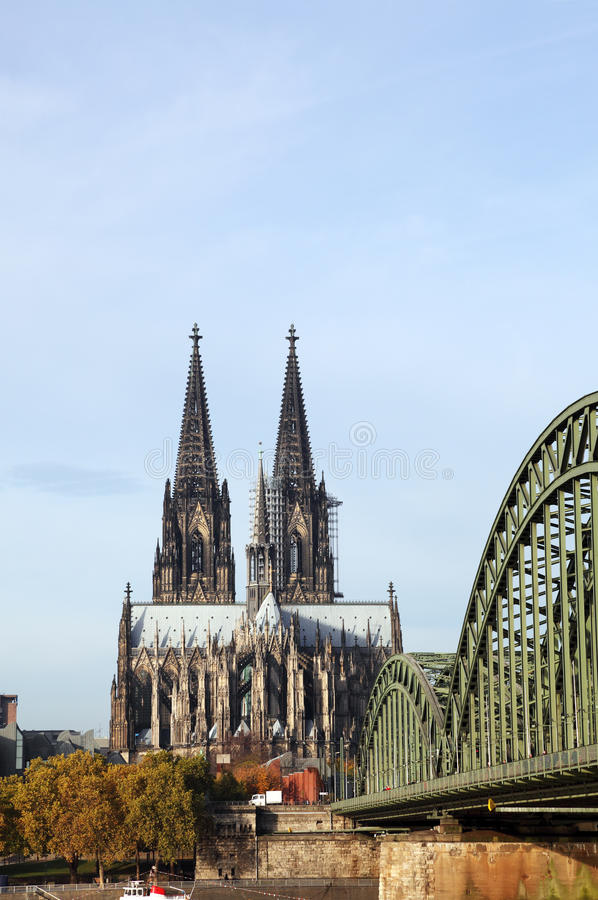 Download DOM in Cologne stock photo. Image of bridge, christianity - 23969674