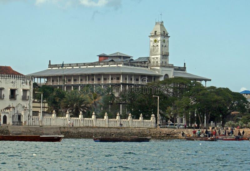 Dom cudy Zanzibar zdjęcia royalty free