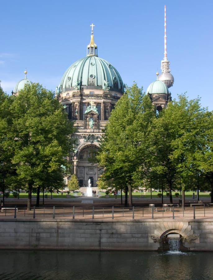 Dom de Berlín imagenes de archivo