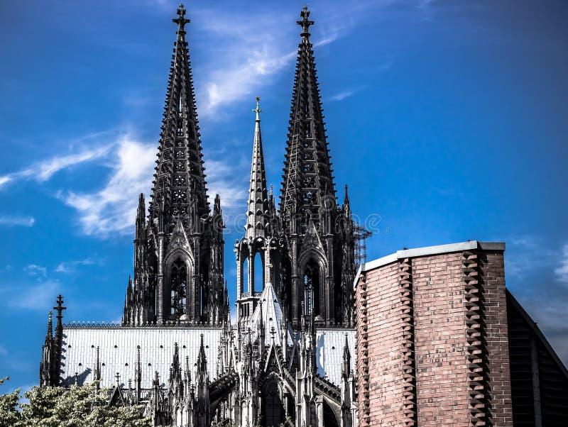 Dom de Köln imagen de archivo libre de regalías