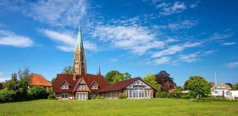 Dom de Schleswig foto de archivo