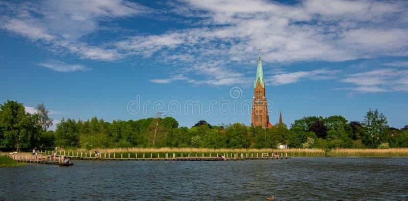 Dom de Schleswig en Schleswig-Holstein foto de archivo libre de regalías