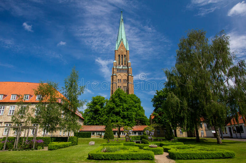 ¡Dom de Schleswig en Schleswig-Holstein, Alemania!!! foto de archivo libre de regalías