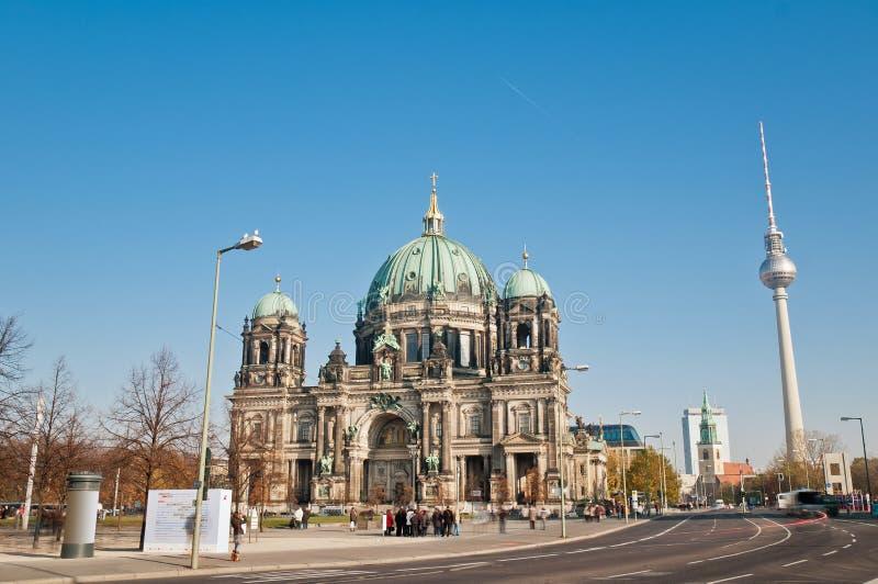 Dom del berlinés (catedral de Berlín) en Berlín, Alemania imagenes de archivo