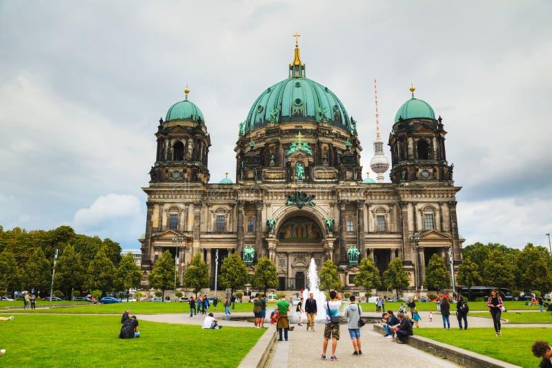 Dom del berlinés en Berlín foto de archivo libre de regalías