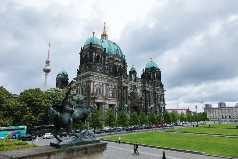 Dom del berlinés en la isla de museo, Berlín, Alemania imagen de archivo libre de regalías