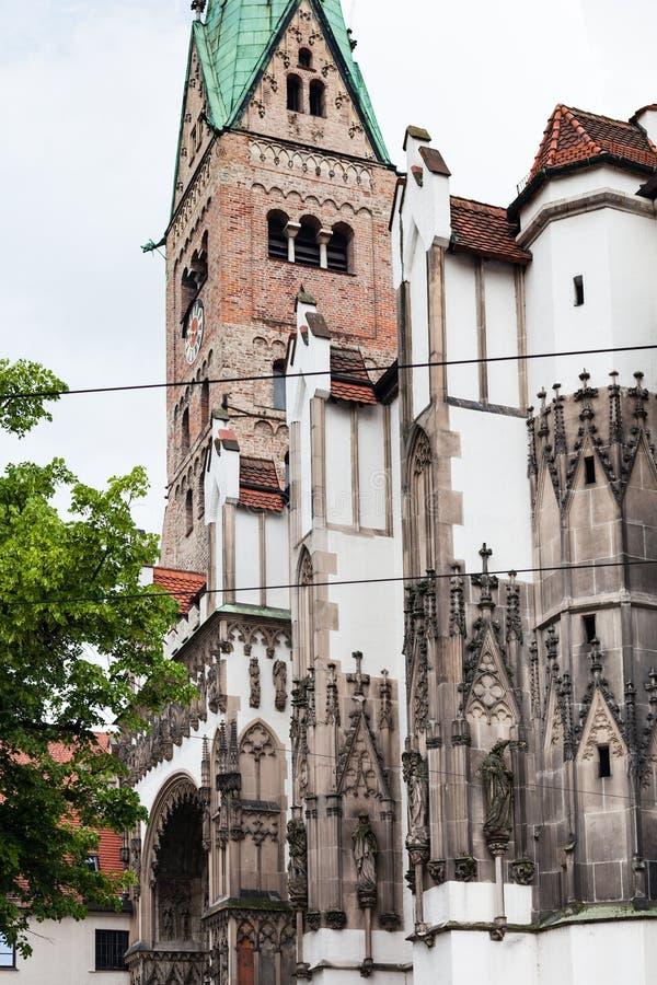 DOM di Augsburger della cattedrale di Augusta immagini stock libere da diritti