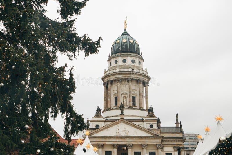 DOM francesi di Franzoesischer o della cattedrale a Berlino, Germania fotografia stock libera da diritti