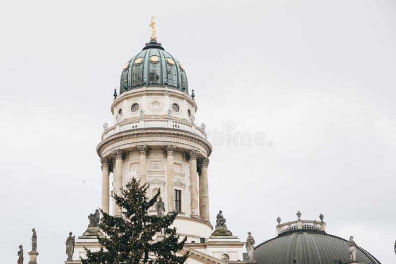DOM francesi di Franzoesischer o della cattedrale a Berlino, Germania immagine stock