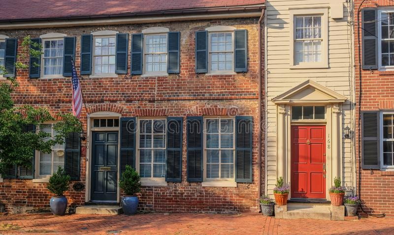 Dom historyczny gromadzki Annapolis obraz royalty free