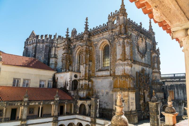 Dom Joao III kloster i den Templar kloster av Kristus i Tomar, royaltyfri fotografi