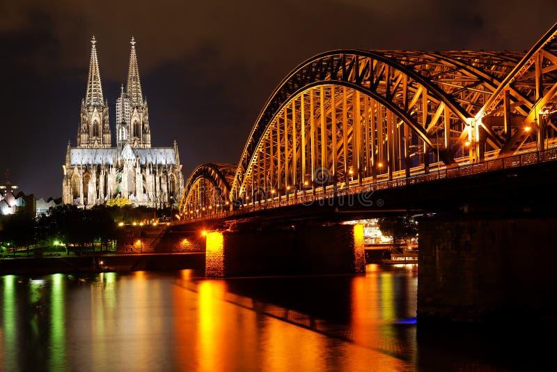 Dom of Koln, Germany. Dom of Koln and Rhine River, Germany stock photos