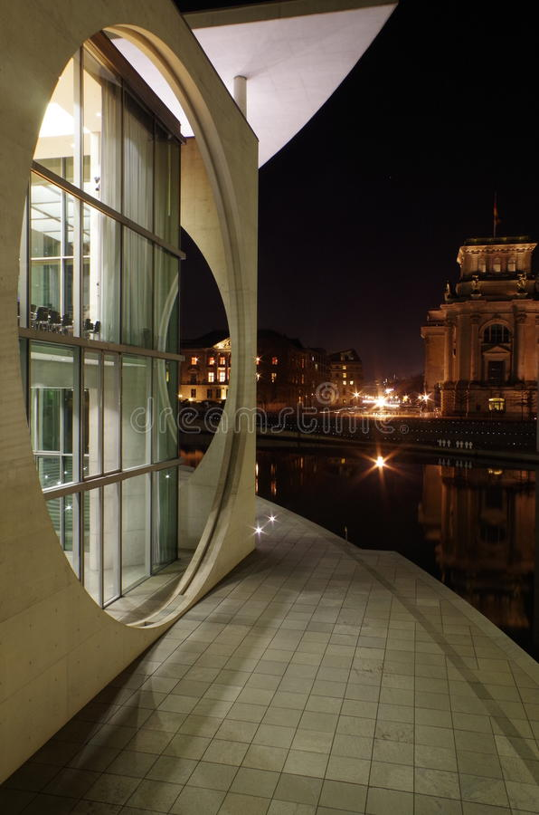 Dom marie-elisabeth-là ¼ ders w Berlin obrazy stock