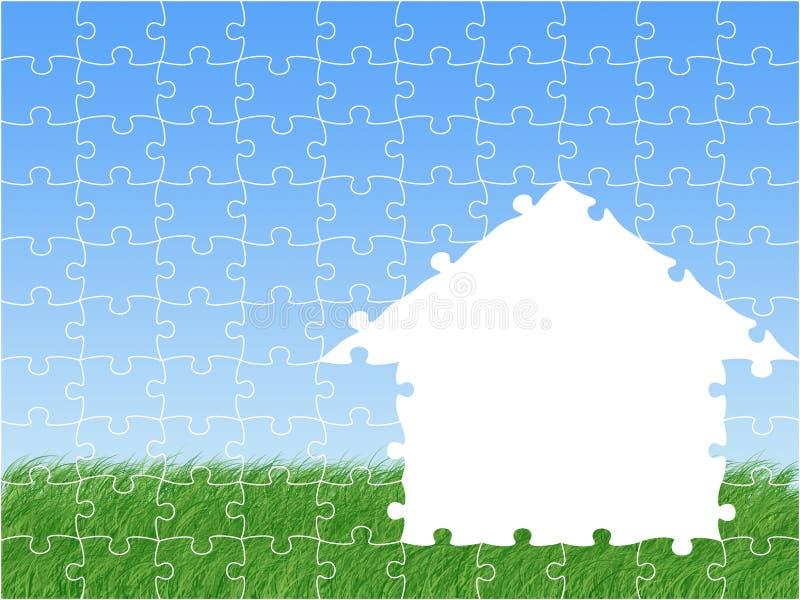 dom marzeń ilustracja wektor