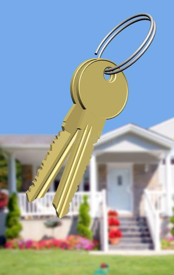 dom marzeń klucze zdjęcie royalty free