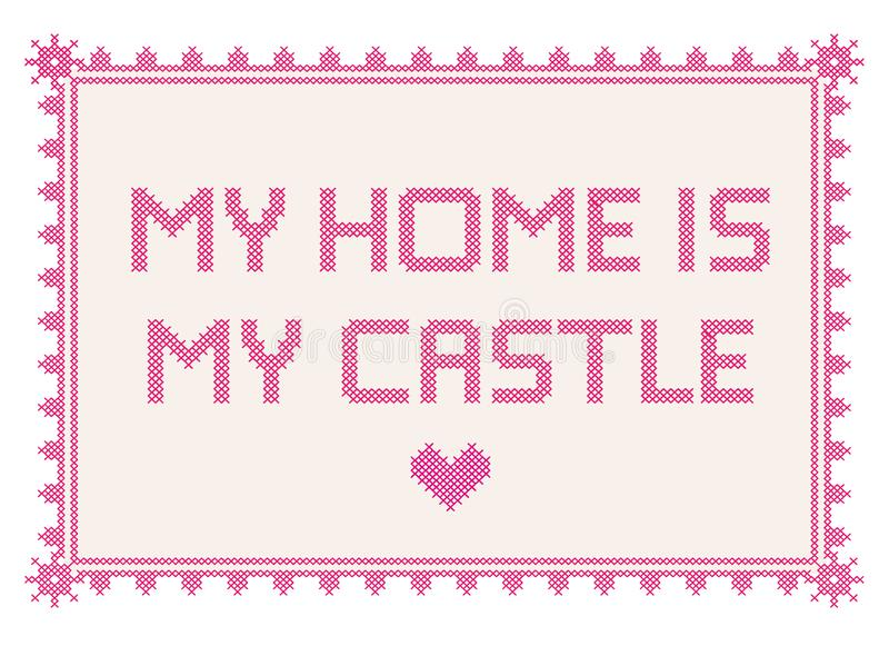 dom mojego zamku obrazy royalty free