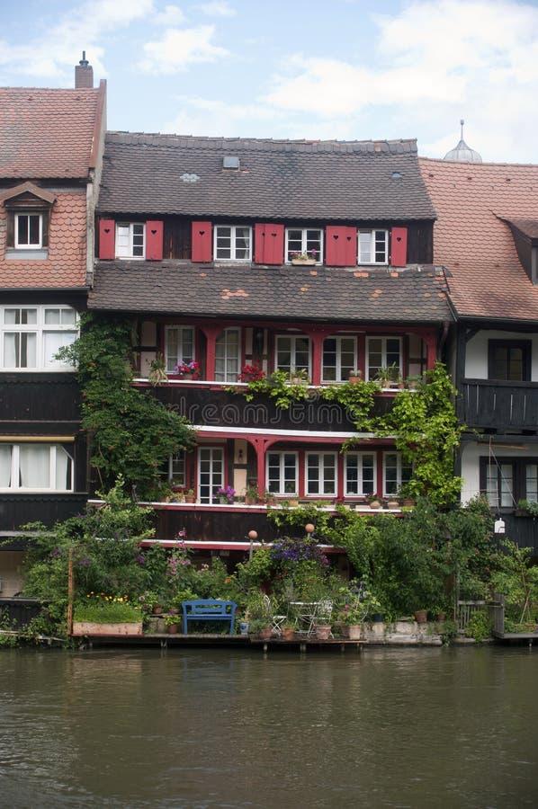 Dom na rzece zdjęcie stock
