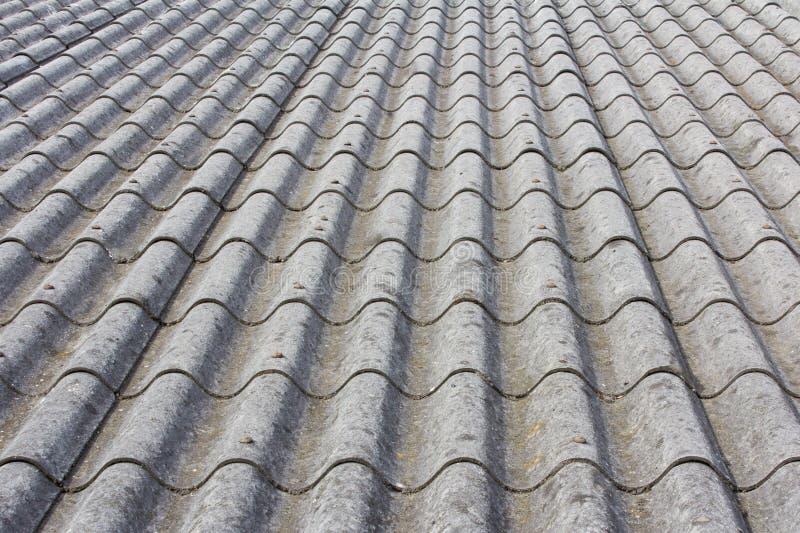dom na wsi azbestowy dach fotografia royalty free