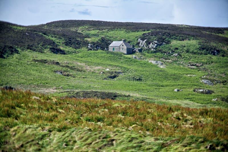 Dom na wybrzeżu zdjęcia stock