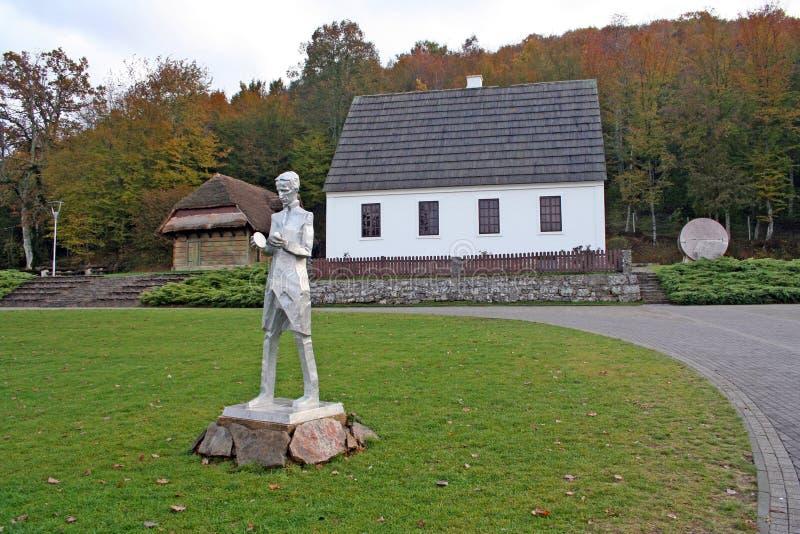 Dom Nikola Tesla-Smiljane Chorwacja obraz stock