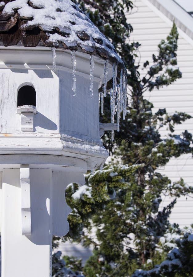 Dom Oczekuje swój wiosna mieszkanów fotografia stock