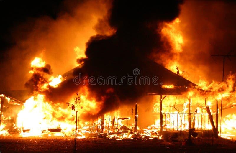dom ognia zdjęcia royalty free