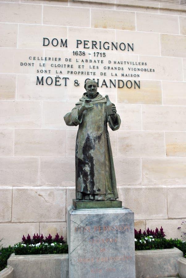 Dom Perignon foto de archivo