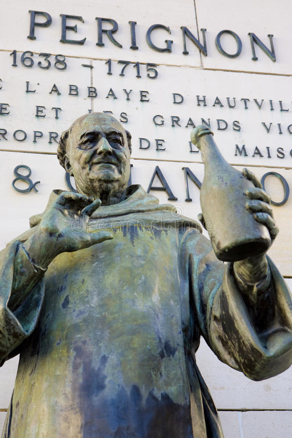 Free Dom Perignon Statue Royalty Free Stock Photography - 15258197