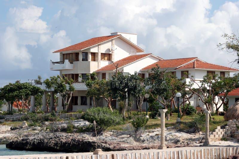 dom przybrzeżne obraz royalty free