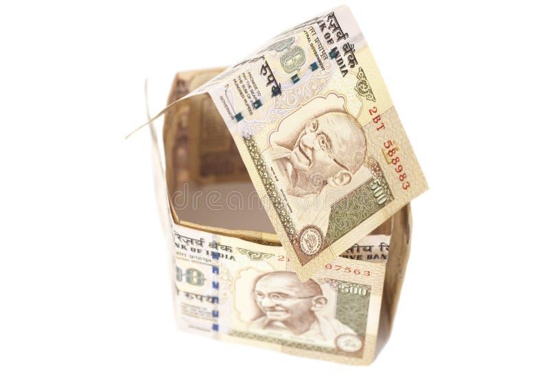 Download Dom Robić Indianin 500 Rupii Banknoty Obraz Stock - Obraz złożonej z pożyczkodawca, pięć: 57669163