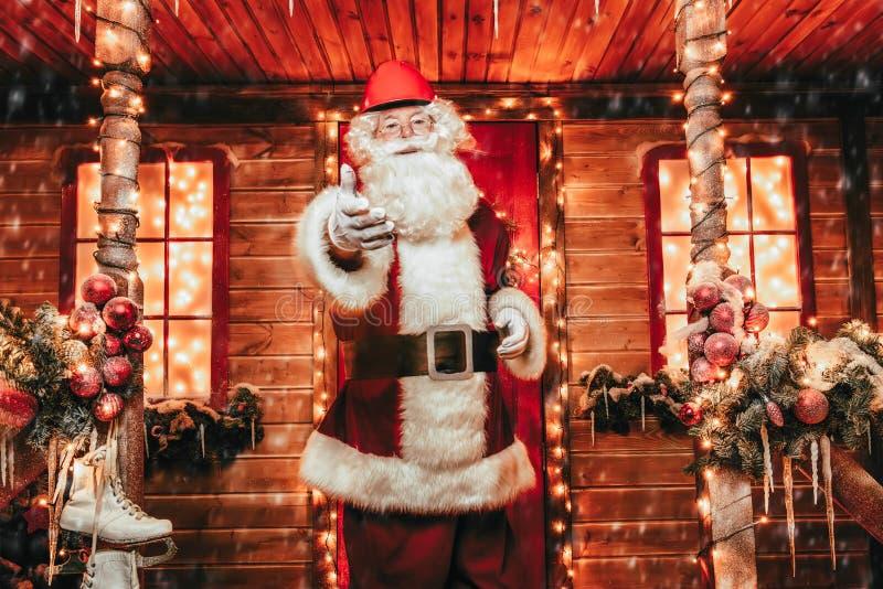 Dom Santa obraz stock