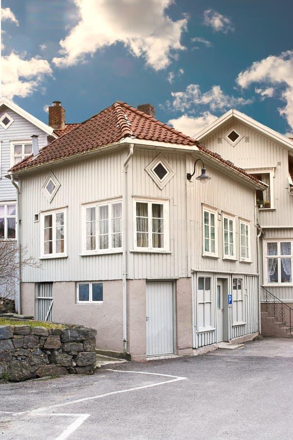 dom starego Norway fotografia royalty free