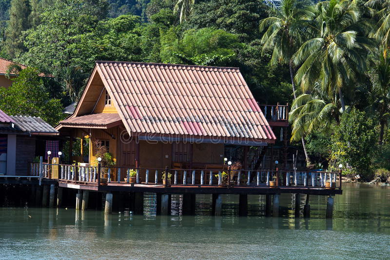 Dom, Tajlandia. obrazy stock