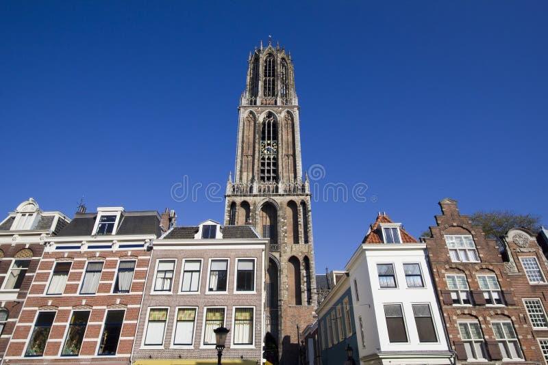 Dom Toren van Utrecht, Holland royalty-vrije stock foto's