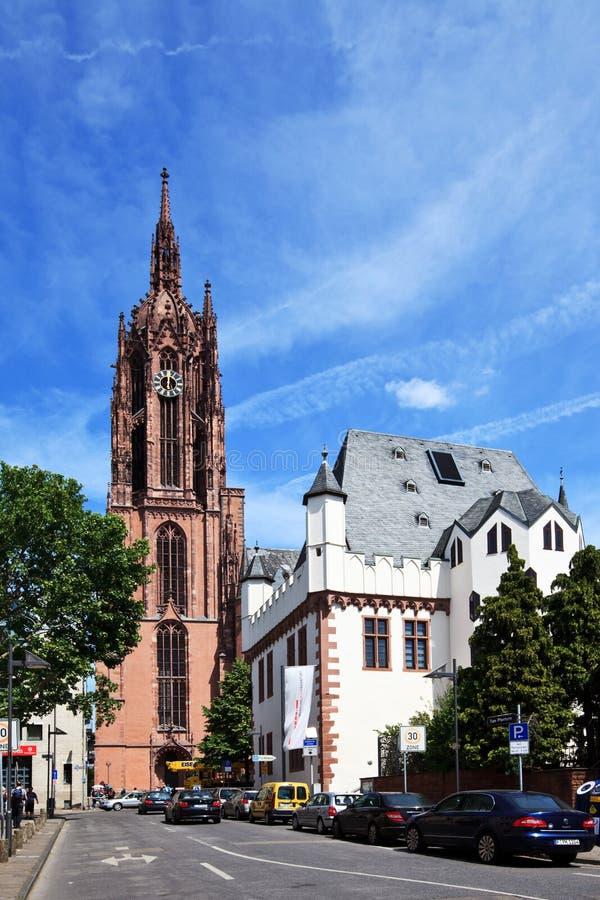 Dom van de Kathedraal van Frankfurt royalty-vrije stock foto