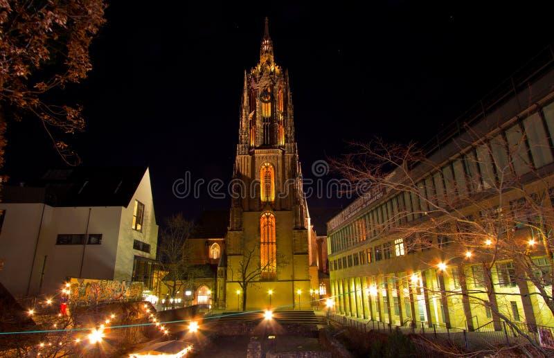 Dom van de Kathedraal van Frankfurt royalty-vrije stock fotografie