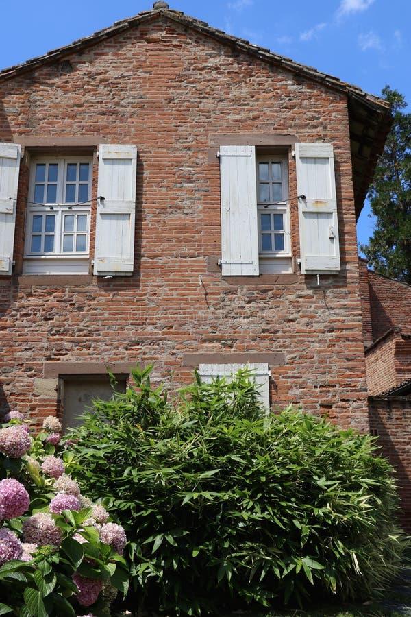 Dom w Albi zdjęcie stock