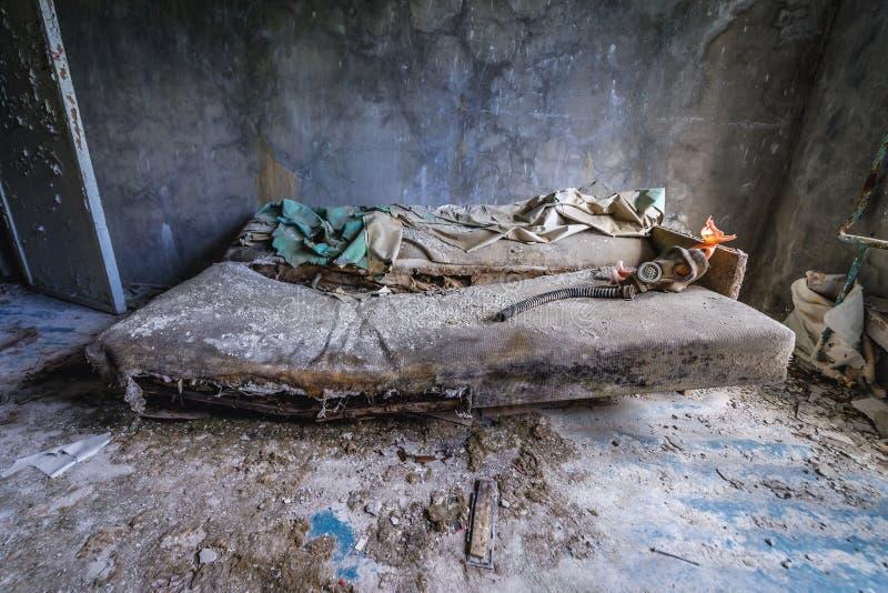 Dom w Chernobyl strefie obraz stock