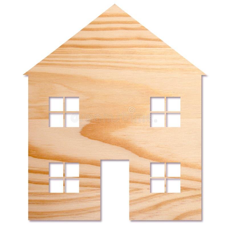 Dom w drewnie zdjęcie royalty free