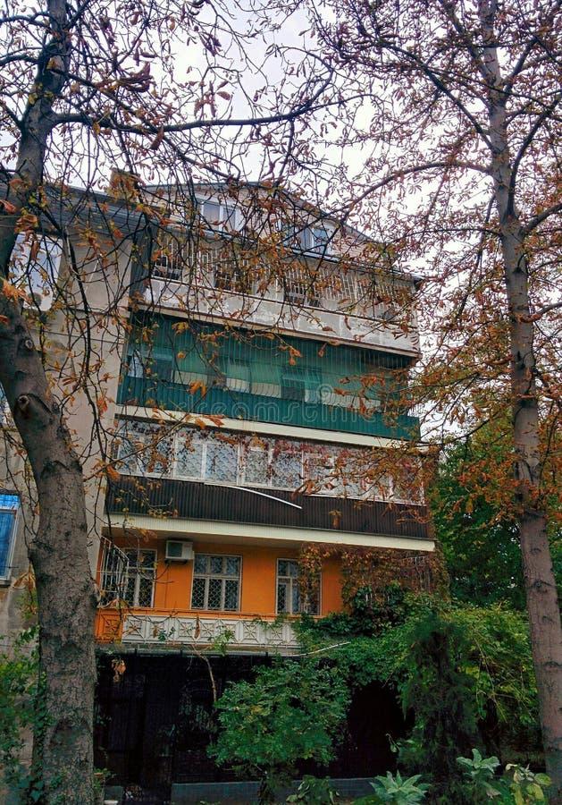 Dom w Odessa zdjęcie stock