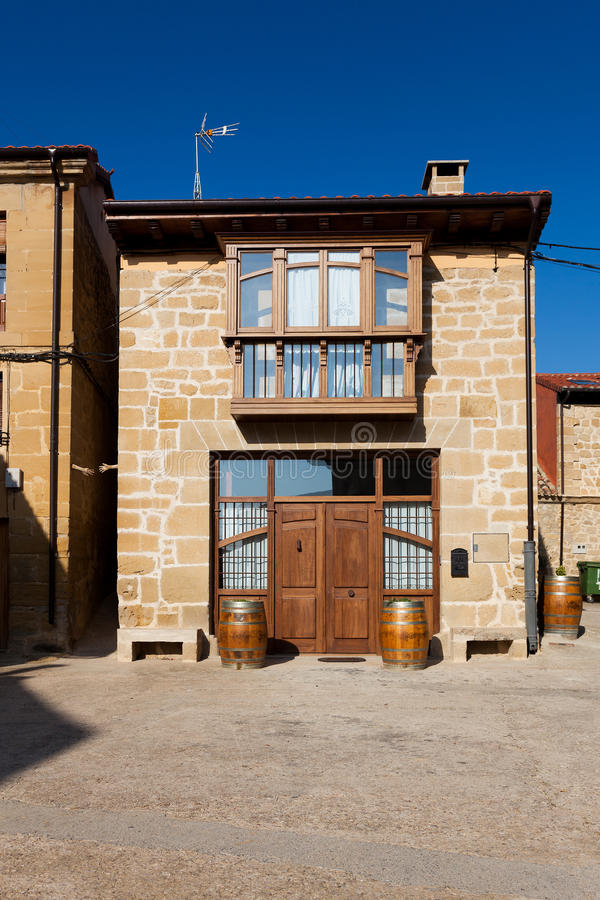 Dom w Sajazarra obraz stock