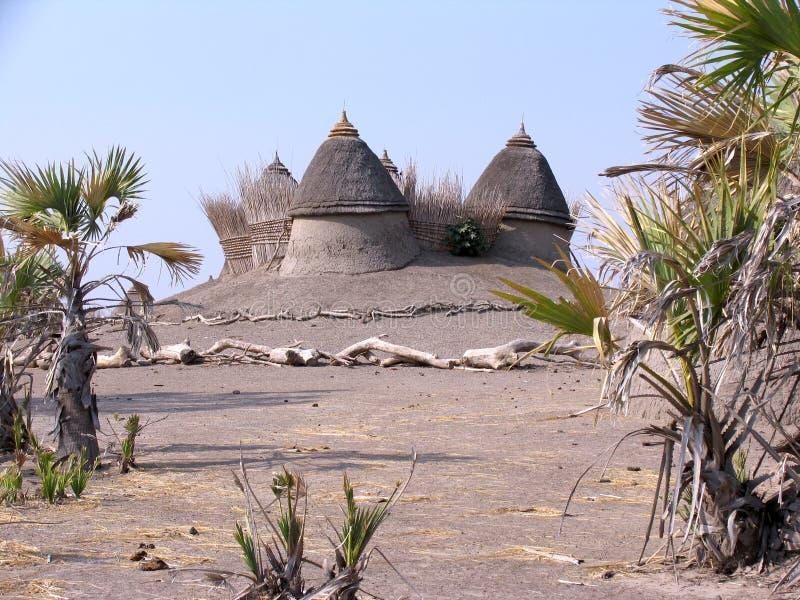 Dom w Sudan zdjęcia royalty free