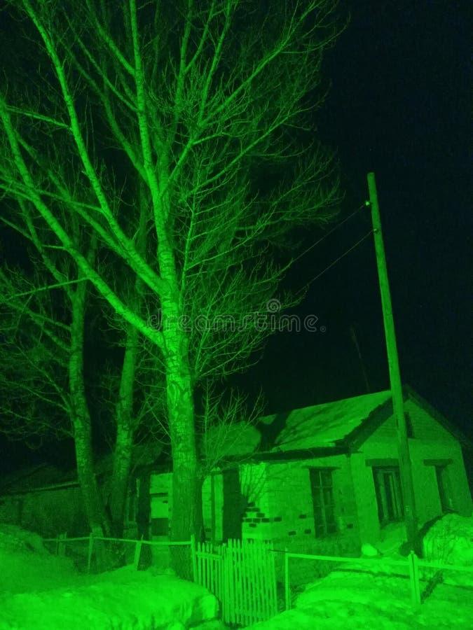 Dom w wiosce obraz royalty free
