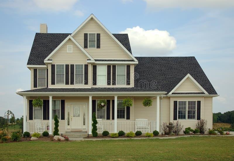 dom z gospodarstw rolnych fotografia stock